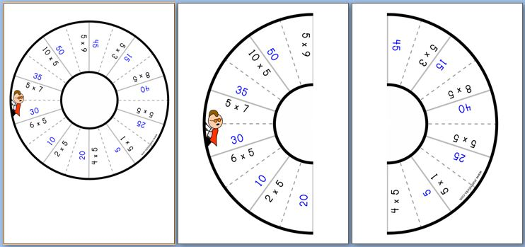 Multiplication Table Games
