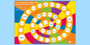 12 Times Table Games