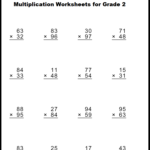 Multiplication Worksheets for Grade 2